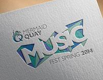 Mermaid Quay Cardiff Bay: Music Festival 2014