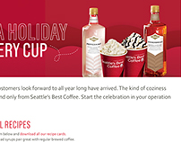 Seattle's Best Coffee Foodservice: Holiday '13