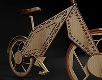 Wooden Bike Concept V01