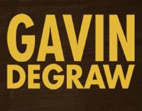 Gavin DeGraw - Tour Announcement