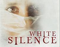 White Silence Horror Film Poster Template