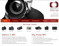 Neighborhood Camera Shop Website