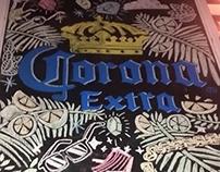 Pizarras cerveza Corona
