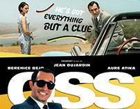 Retro Movie Poster: OSS117