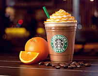 Starbucks Iced Orange Mocha