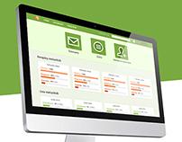 Protopmail web application design