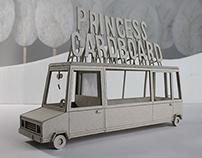Princess Cardboards' Limousine