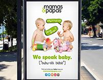 Mamas & Papas - Ad Campaign & Design