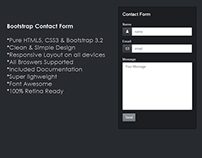Free | Bootstrap Contact Form