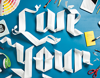 Live Your Dream Paper Type