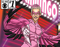 Big Brother Comic Book Art