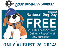 Delivery Puppy Promo - August