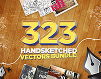 323 Handsketched Vectors Bundle