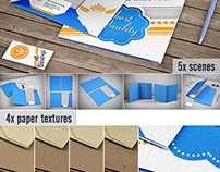Stationery / File Folder Mock-up