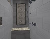 Shower Tile Design Option