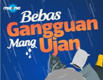 Mizone Bebas Gangguan Mang Ujan