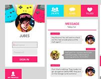 Superhero Themed UI Design - Jubilee