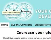 Esprit Global Learning website