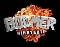 Boomer movie theater branding and launch