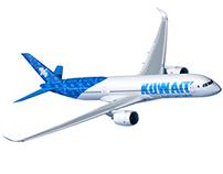 kuwait airways . branding