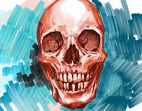 Adobe Sketch Skull