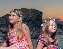 Summer Beach Children
