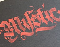 Calligraphy works