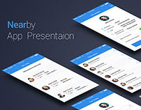 Nearby iOS7 app UI