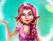 KAHRAMANA character concept