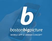 Boston Big Pictures UI Concept