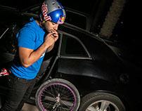 Red Bull BMX Champ Mansour Alsafran