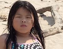 """""""Beach Girl"""" Model test"""