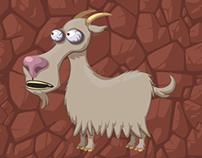 Volcanic Panic- Character Animations