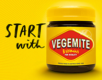 A to Z: Vegemite Typeface by Allison Colpoys