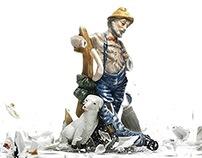 Print - Calcium Complex - 'Smashing Statues'