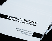 Business Card // Garrett Rockey