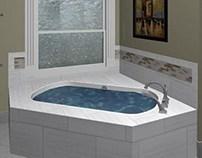 Tub Back-splash Design
