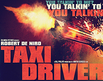 Taxi Driver | Homage Art Poster