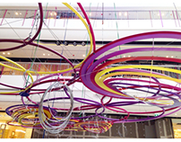 Art installation at Central Salaya