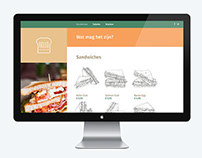 Hello Sandwich Website