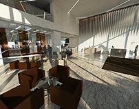UK New build Project Reception Interior Design