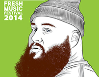 Action Bronson Poster