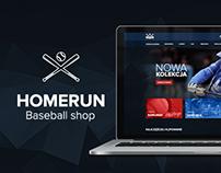 Homerun.pl - Baseball shop