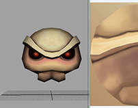 """Low-poly model for game """"Minimon"""""""