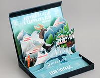 ALASKA : Pop-Up Card