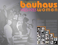 Bauhaus Women - student work