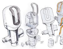Auto Stool Flusher Design Concept 2014