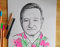 Robin Williams Portrait
