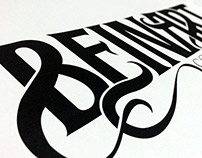 BeinArt Collective: Logotype / Lettering Design