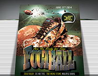 Football Season Flyer Template (Free download)